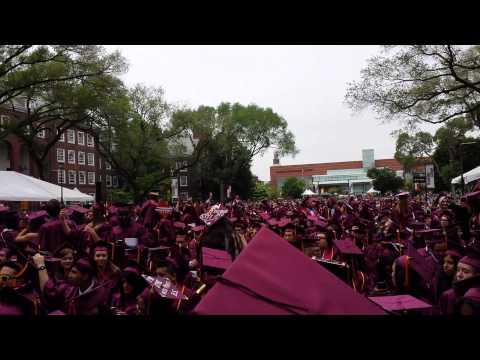 Brooklyn College graduation 2015