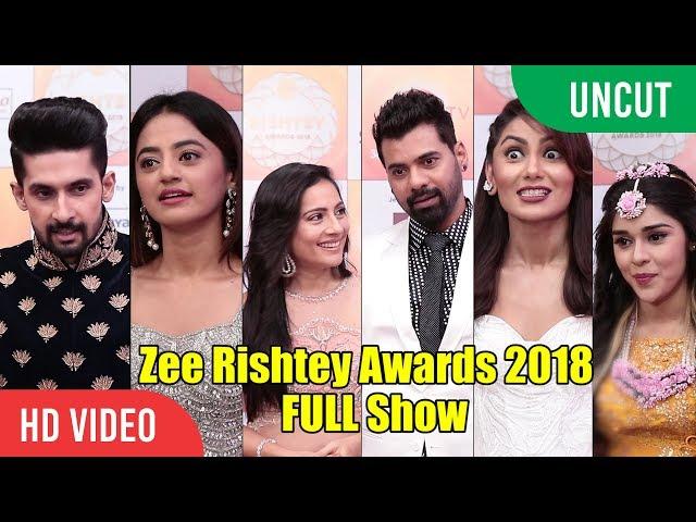 Zee Rishtey Awards 2018 | FULL EVENT | Shabbir Ahluwalia, Kanchi Kaul, Sriti Jha, Helly Shah, Surbhi