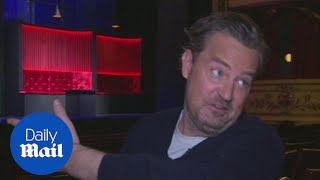 Matthew Perry talks about West End play 'The End of Longing' - Daily Mail