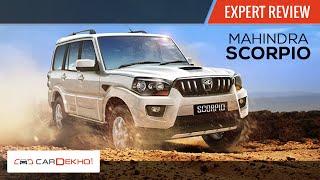 2014 New Mahindra Scorpio | Expert Review | CarDekho.com