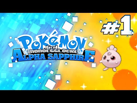 "Pokemon Alpha Sapphire GenOne Locke  w/ BlueJayOnToast Ep 01 ""Intermixing Generations"""