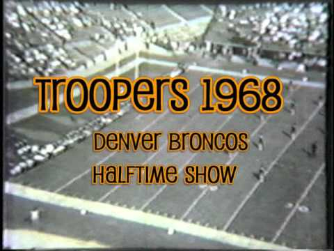 1967 & 1968 Troopers Drum and Bugle Corps  Halftime Highlights