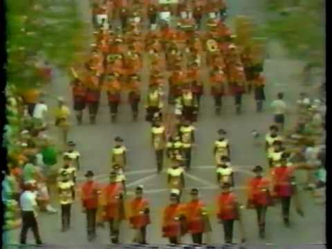 Heraldry Guard 1979 Cherry Royale Parade