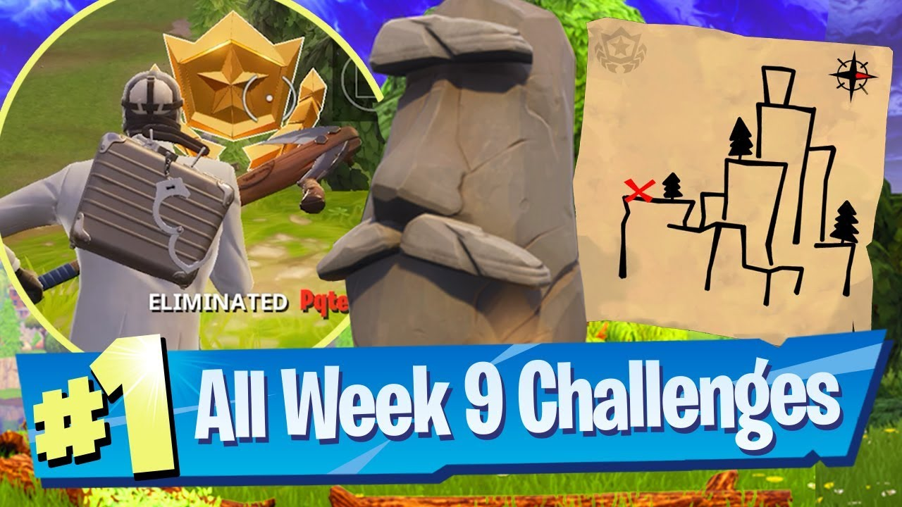 Fortnite Season 5 Week 9 Challenges Guide Shifty Shafts Treasure