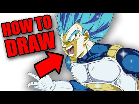 How to Draw ANY DRAGON BALL CHARACTER