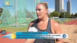 Jennifer Dahlgren fue medalla dorada en el Grand Prix Alejandra García