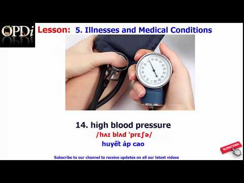 Oxford dictionary | 5. Illnesses and Medical Conditions | Oxford picture dictionary 2nd edition