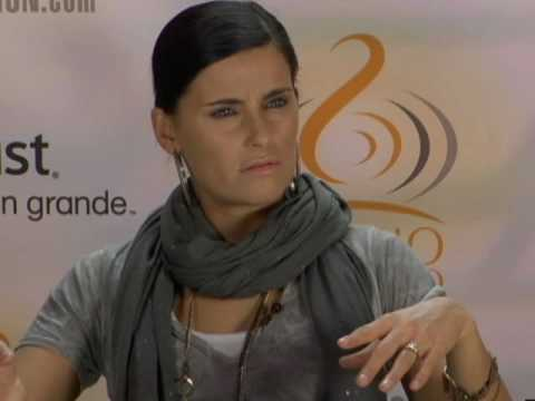 Nelly Furtado Chats With Univision.com - 2010
