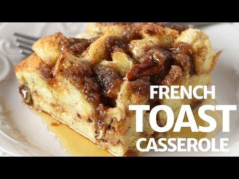 Deliciously Easy French Toast Casserole