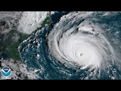 Hurricane Florence - Latest Satellite Imagery is Amazing and Terrifying