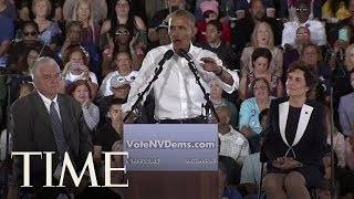 Obama Rails Against Republicans In Fiery Nevada Rally | TIME