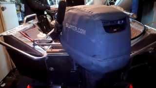 Отладка рулевого управление на рыболовной лодке(Отладка рулевого управление на рыболовной лодке Подписывайтесь на канал Рыбалка в Тольятти: http://www.youtube.com/ch..., 2015-05-13T09:31:08.000Z)