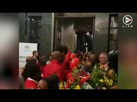 EFF MP slaps security official moments after SONA address