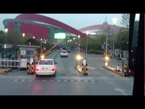 เดินทางไปสนาม Nanjing Olympic Sports Center