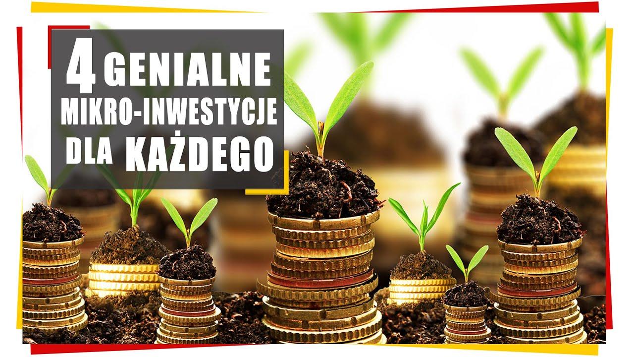 4 genialne mikro-inwestycje dla każdego