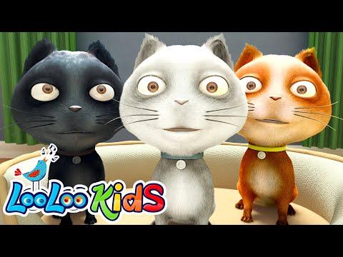 🐱 Three Little Kittens 🐱 THE BEST Songs For Children | LooLoo Kids