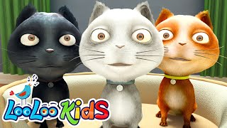 Three Little Kittens - THE BEST Songs for Children | LooLoo Kids thumbnail