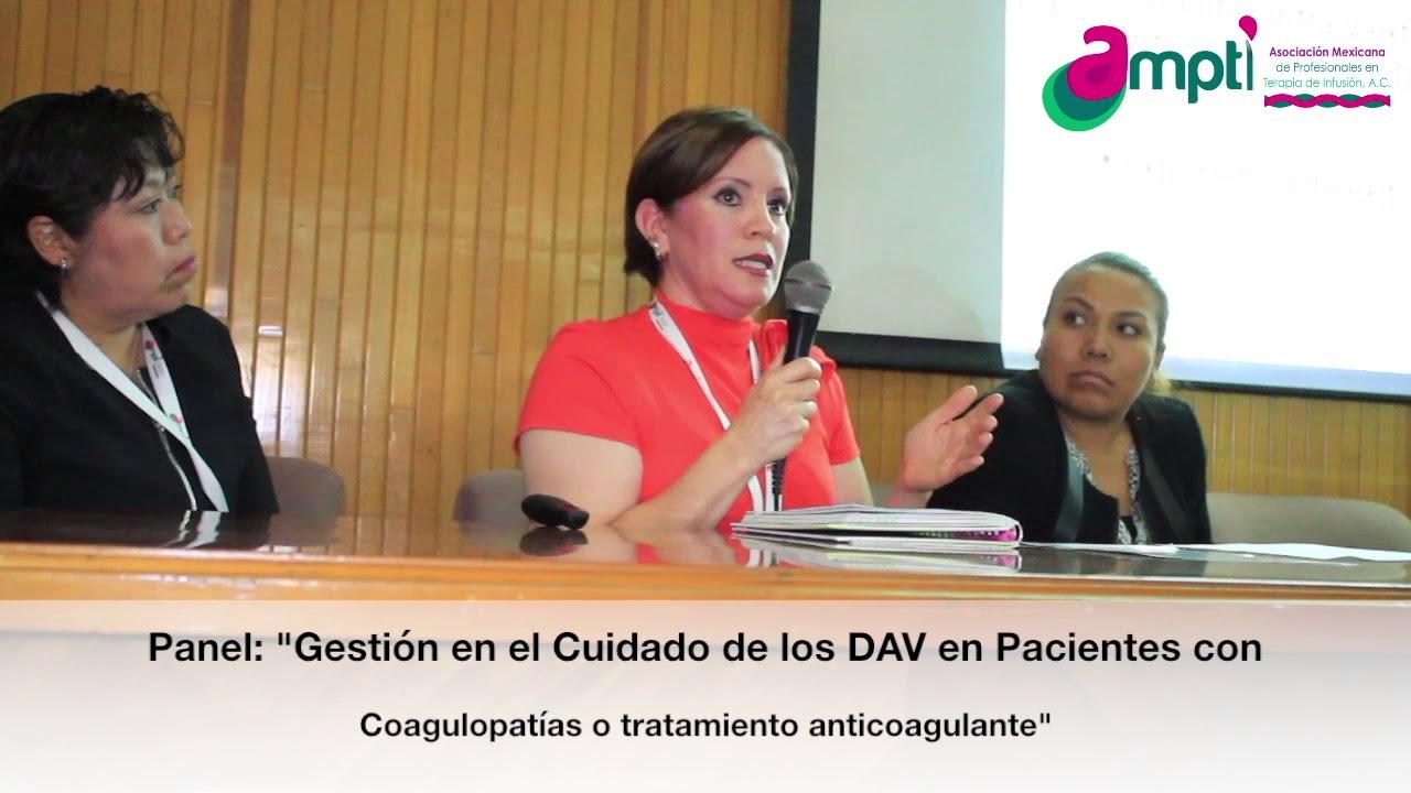 """Panel """"Gestión en el cuidado de los DAV en pacientes con coagulopatías o tratamiento anticoagulante"""""""