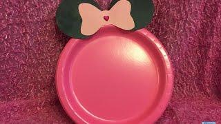 Minnie mouse : DIY PRATO
