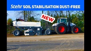 NEW: soil stabilisation system sbf 24-10 dust-free from stehr in germany
