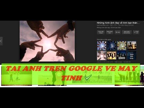 Cách Tải ảnh Trên Google Về Máy Tính