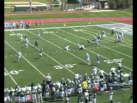 Iowa Western Football 2011 - Andrew Brown #5 SS