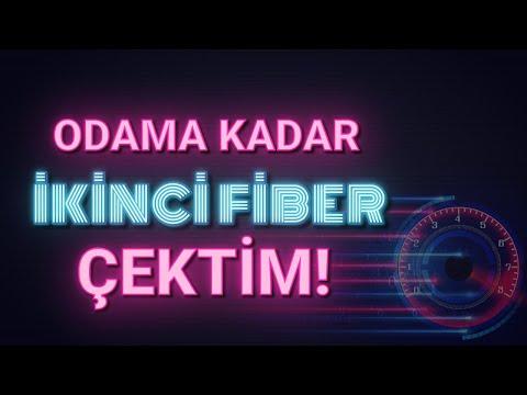 ODAMA İKİNCİ FİBER İNTERNET ÇEKTİM - TÜRK TELEKOM ONT ALTYAPI COMNET INTERNET