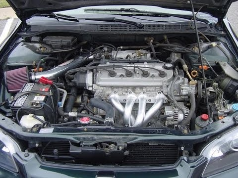 1998 Honda Accord 2.3 V-Tec 0-120 Run - YouTube
