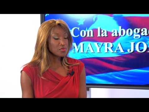 Los Derechos De Los Inmigrantes Con La Abogada Mayra Joli Youtube