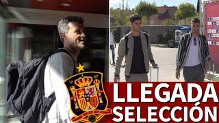 Selección Española | Así fue la llegada de los convocados a la Ciudad del Fútbol | Diario AS