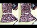 Bell Sleeve cutting and Stitching with Two Easy Methods || Bell Sleeves Design making