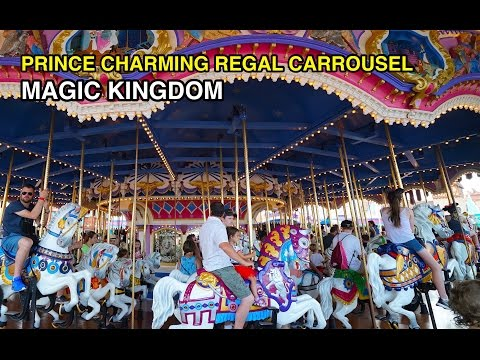 [4K] Prince Charming Regal Carrousel – Carefree Spin: Magic Kingdom (Orlando, FL)