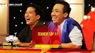 Thách thức danh hài 3 | teaser tập 11: bất ngờ với quyết định của hot boy bán trà sữa thumbnail