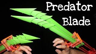 How to make a Paper Predator Blade for Halloween
