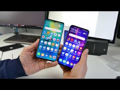 Vergleich Huawei Mate 20 vs. Honor View 20