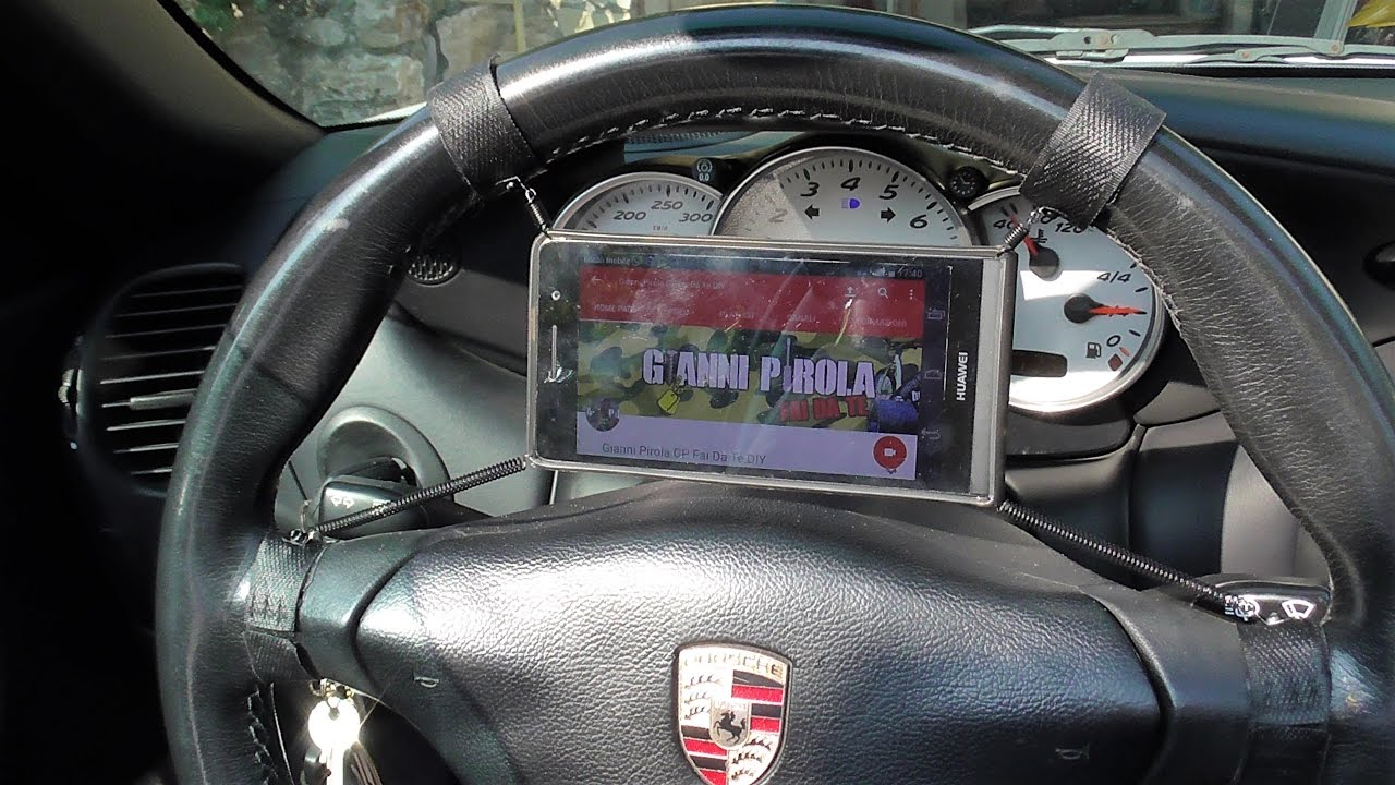Diy support smartphone for car fai da te by gianni - Porta smartphone auto ...