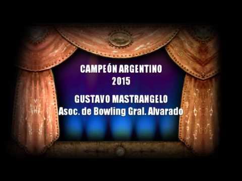 Los cinco Campeones Argentinos 2015 de la República Argentina, disciplina Bowling Palos Chicos