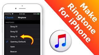 Make Ringtone for iPhone using iTunes! - 2020 [EASY METHOD]