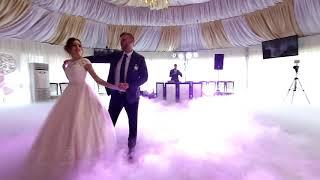 Первый свадебный танец молодоженов ресторан Петровский Бровар  заказать видео 0662563337