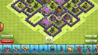 Clash Of Clans\Comment faire un bon village hdv 8