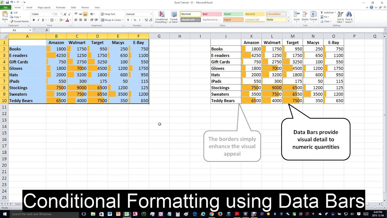 how to set conditional formatting in excel 2007