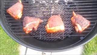 How To Make Awesome Smoked BBQ Chicken Thighs