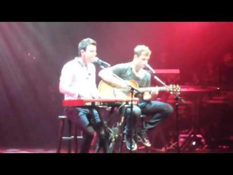 Nick Carter & Jordan Knight - NYC - *If You Go Away*  10/10/14