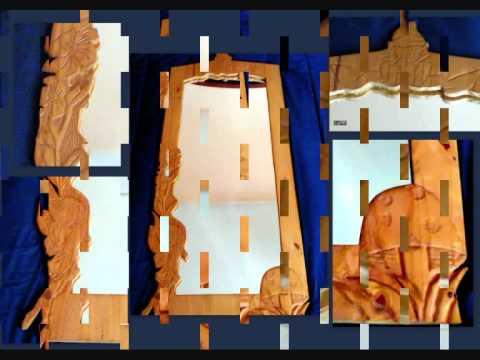 maderas talladas charo msobrino espejos y relojes youtube