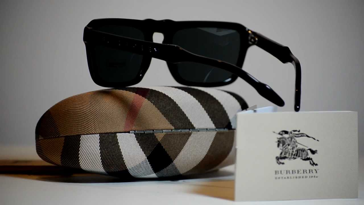 21ffce1818a9 New Authentic Burberry Sunglasses BE4119 331587 BE 4119 Black Made In Italy