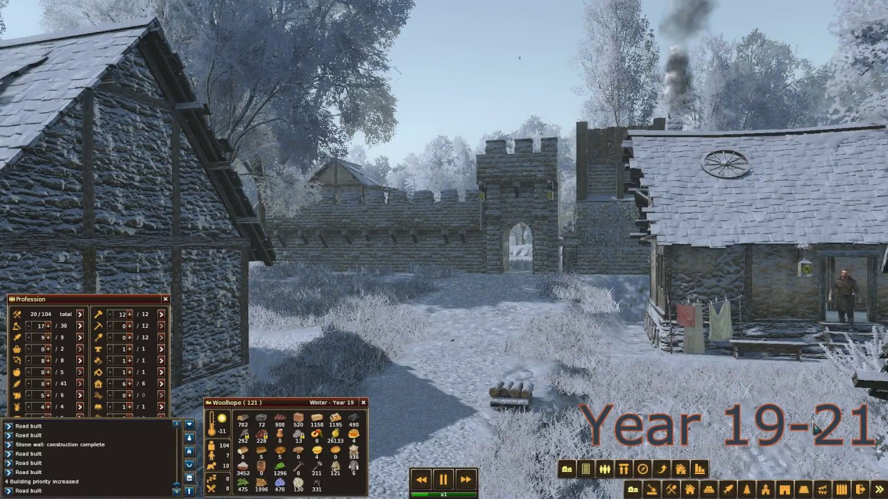 Life is feudal forest village delete building сюжетно-ролевая игра в лагерь