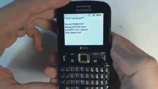 Samsung Ch@t 222 E2222  factory reset