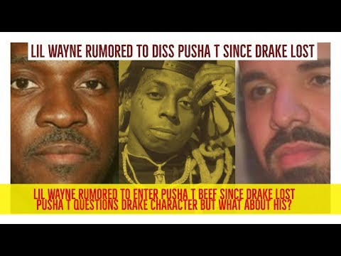 Lil Wayne RUMORED to ENTER Pusha T Drake Beef after Pusha T Defeated Drake on Story of Adidon