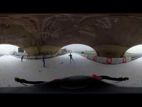 360-Grad-Lauf um die Weltcup-Strecke in Dresden