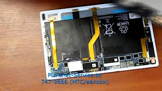 Смотреть видео Ремонт  планшета  Sony Tablet Z2